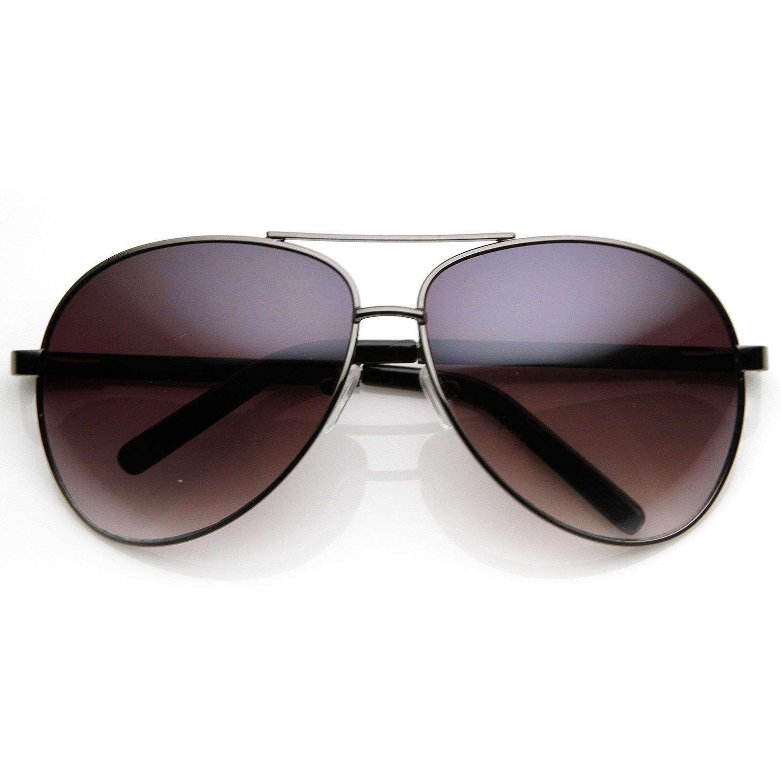 Hollywood-Fashion-Designer-Inspired-2-Tone-Large-Metal-Aviator-Sunglasses-1508