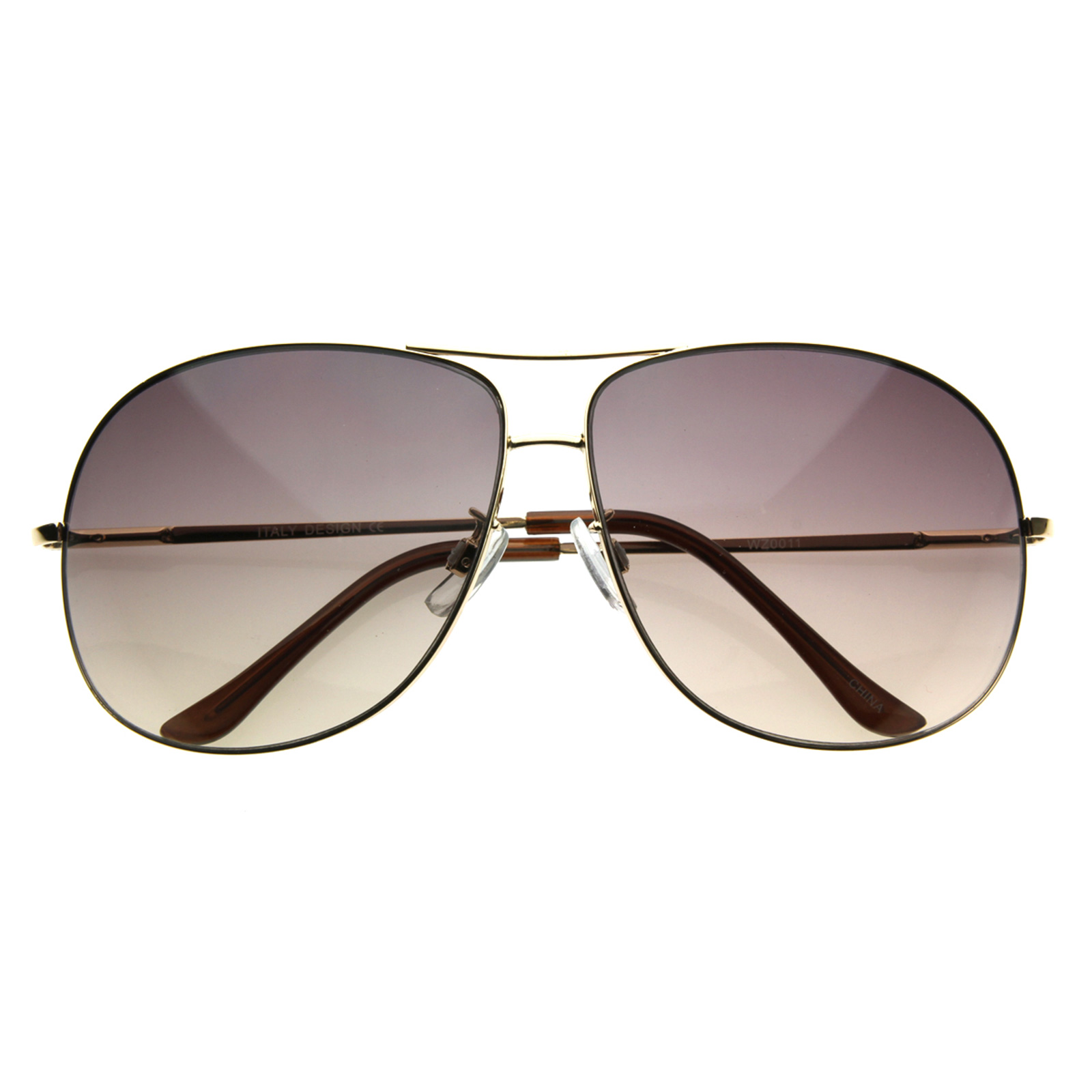 Big Wire Frame Glasses : NEW GQ Formal Large Mens Wire Frame Square Metal Aviator ...