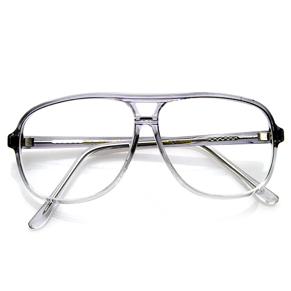 Vintage-Retro-Optical-Tear-Drop-Fade-Clear-Lens-Reading-RX-Eyewear-Glasses-8100