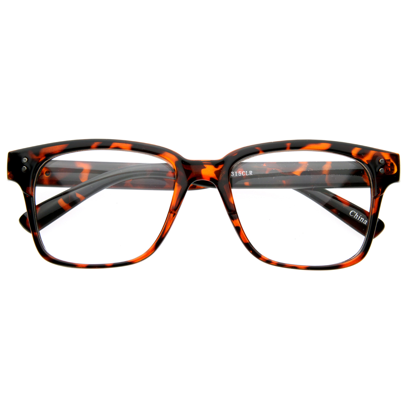 New-Vintage-Fashion-Nerd-Clear-Lens-UV400-Horned-Rim-Shades-Style-Glasses-8158