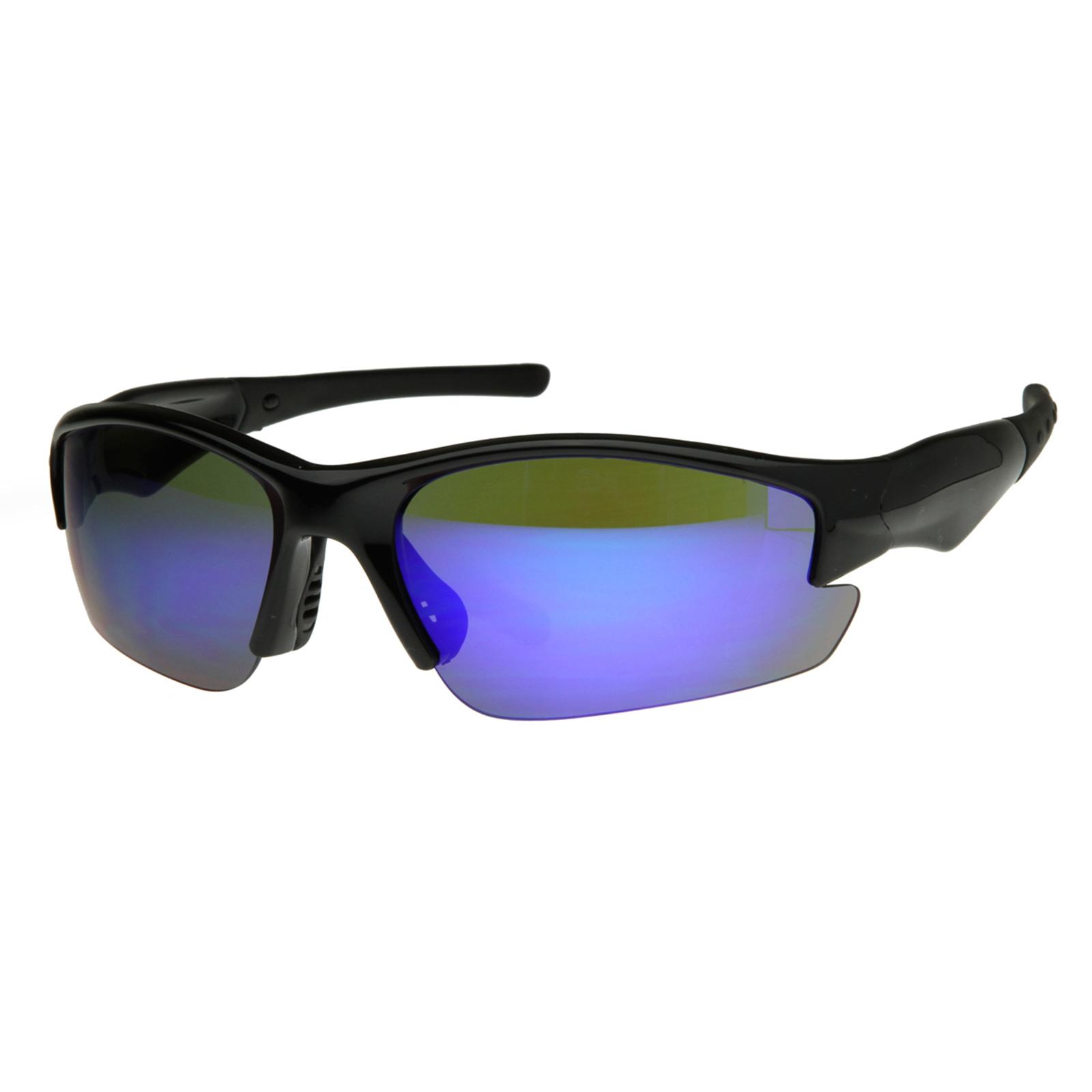 Semi-Rimless TR90 Sports Wrap Sunglasses eBay
