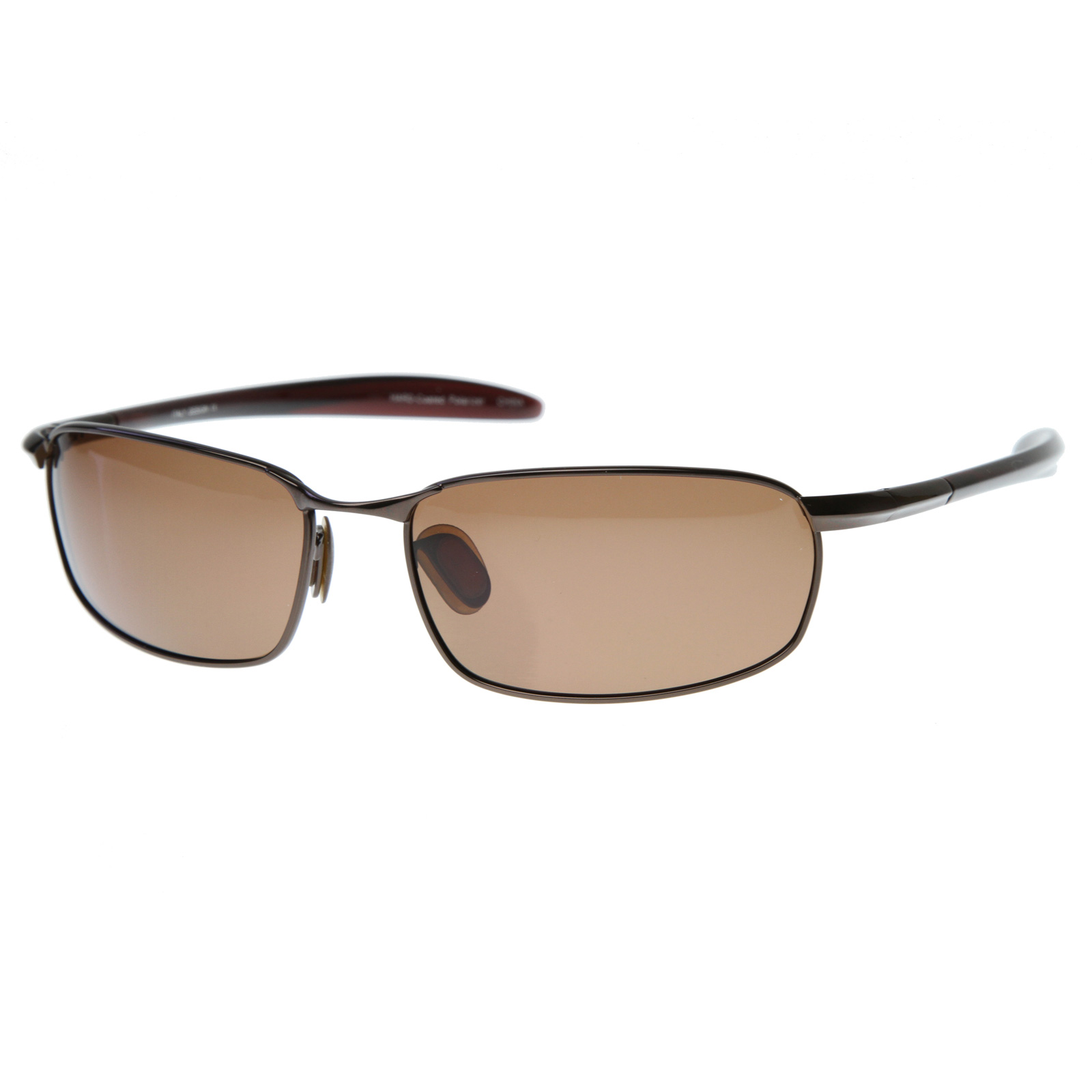 Mens Wire Frame Glasses : New Mens Sports Fishing Polarized Thin Metal Wire Square ...