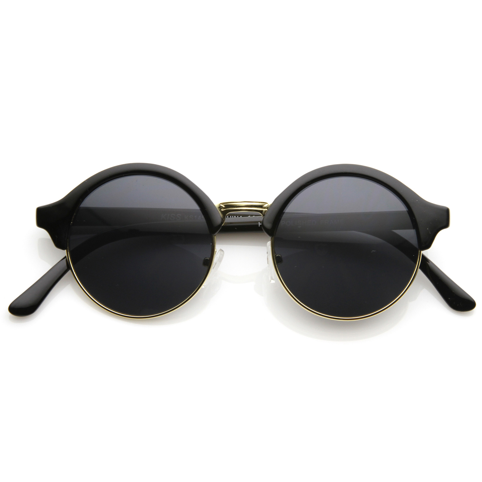 Discover Mens round framed sunglasses with ASOS. From oval, to polarised metal shapes, find your favorite sunnies with ASOS.